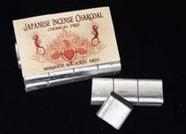 Charcoal - Japanese Silver Coated