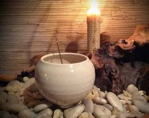 Full Moon Incense Bowl